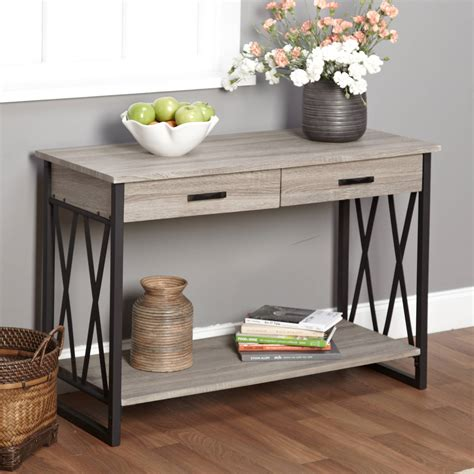 console tables for living room better homes and gardens crossmill collection coffee table