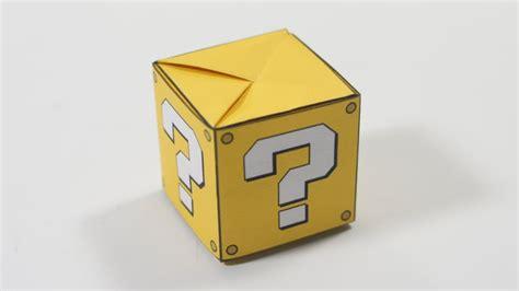 origami question origami question box