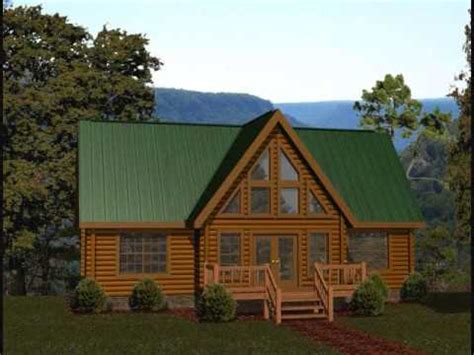 1200 Sq Ft House Plans battle creek log homes 1300 1400 square foot plans youtube