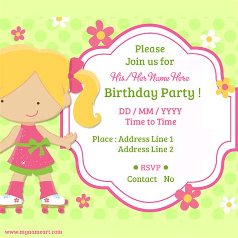 make a birthday invitation card free child birthday invitations cards wishes greeting card
