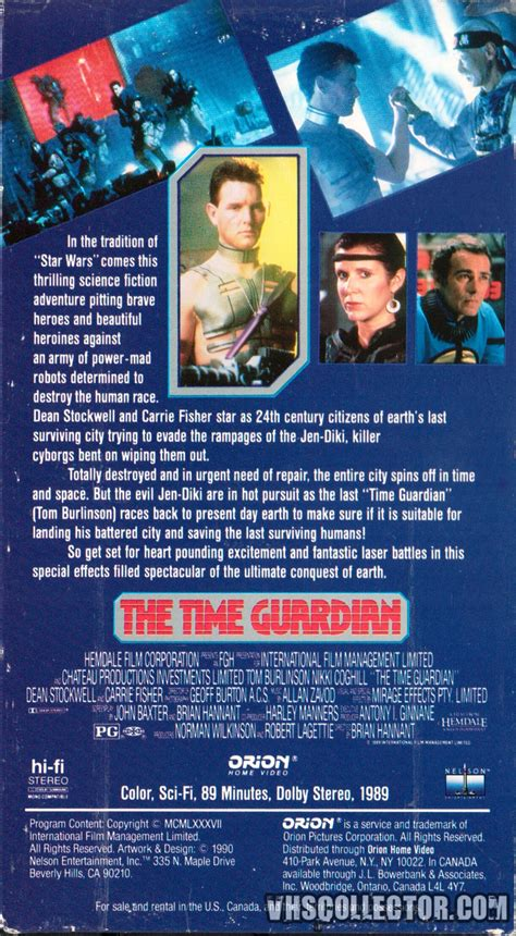 time guardian the time guardian vhscollector your analog