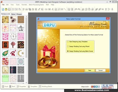 wedding card software screenshots of wedding invitation card maker software