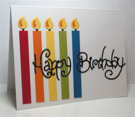 easy birthday card ideas think outside the box october 2011