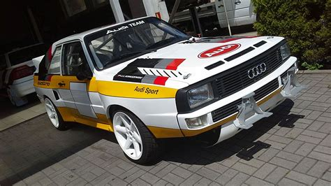 Audi Sport Quattro For Sale by Audi Sport Quattro S1 B Replica Rally Car For Sale