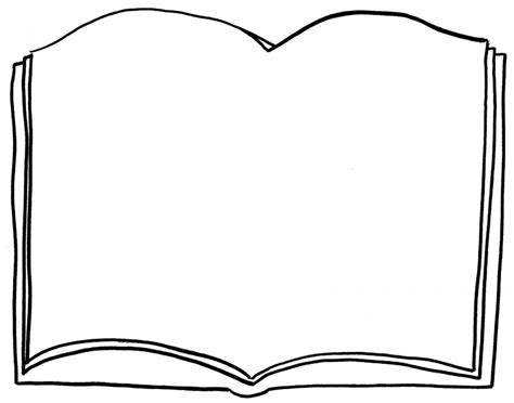 coloring picture of a book free open book coloring pages