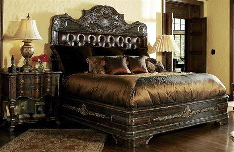 high end bedroom furniture sets high end master bedroom sets carvings and tufted