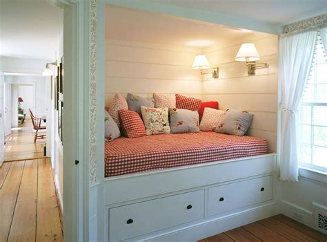 built in beds row house refuge decorating and storage solutions for