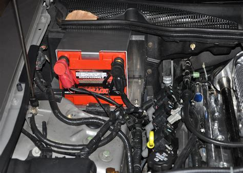 2004 Cadillac Cts Battery by Battery Change To An Optima Redtop Weight Added 5 Pounds
