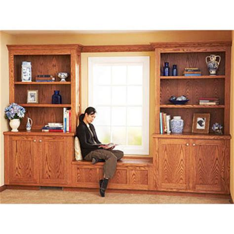 cabinets and bookshelves free built in bookcase and cabinet plan
