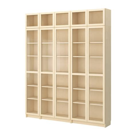 billy bookcase with glass doors home furnishings kitchens appliances sofas beds