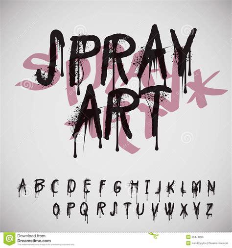 graffiti spray paint font graffiti splash alphabet royalty free stock photo image