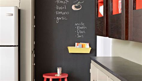 diy chalk paint wall chalkboard wall