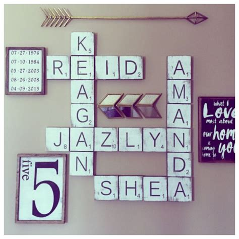 scrabble letters for the wall best 25 scrabble wall ideas on living
