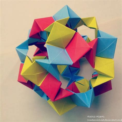 modular origami free modular origami cookie cutter 1 by madsoulchild on