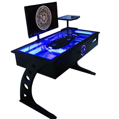 computer desk with built in computer one machine computer desk computer built in