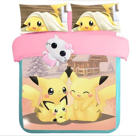 pikachu bed set buy wholesale bedding set from china