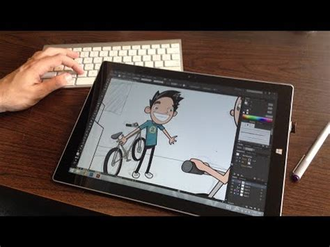 paint tool sai on surface pro 3 i m an illustrator using the surface pro 3 as a wacom