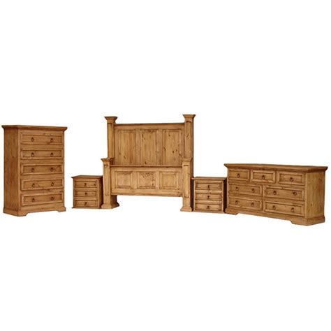 rustic pine bedroom furniture rustic pine oasis bedroom set with king oasis bed