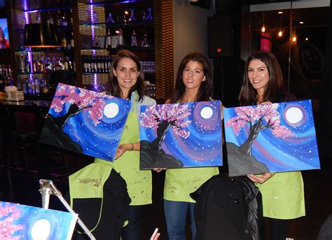 paint nite unos yonkers royal regency hotel in yonkers hosts quot paint quot