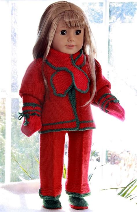 free knitting patterns for american dolls american knitting patterns free american doll