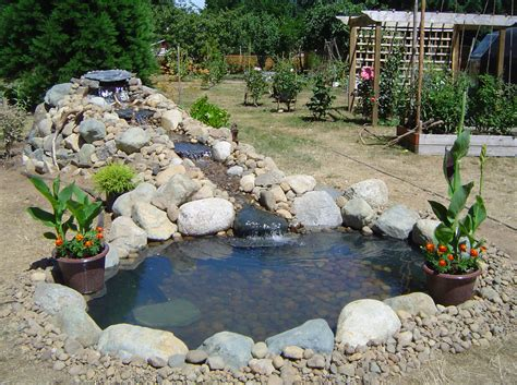 backyard pond ideas with waterfall excellent fish pond design ideas for the home owners