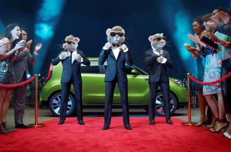 Kia Soul Hamster Commerical by Totally Transformed New Ad For 2014 Kia Soul