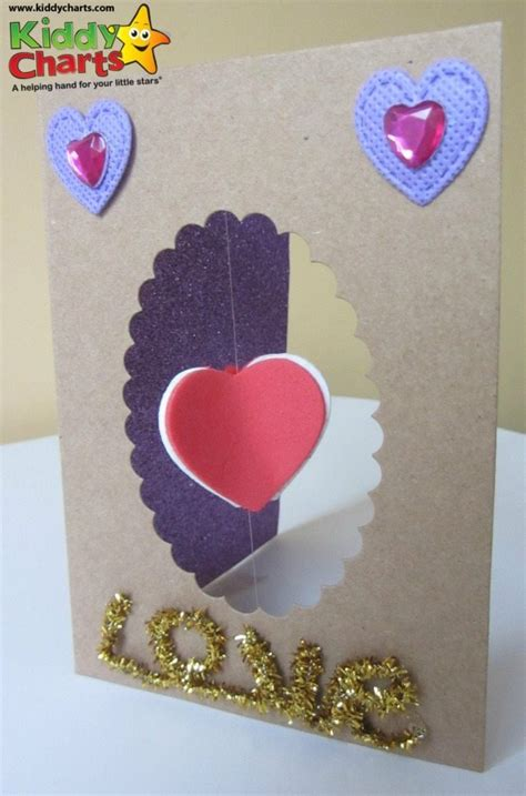 make valentines day card spinning 3d s day card