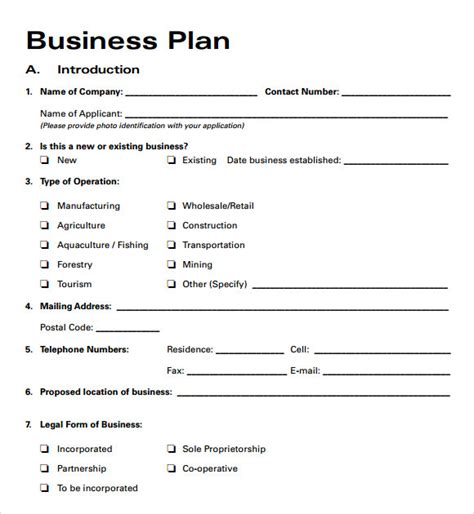 woodworking business plan exle business plan templates 6 free documents in