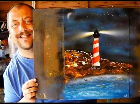 How To Spray Paint The Lighthouse