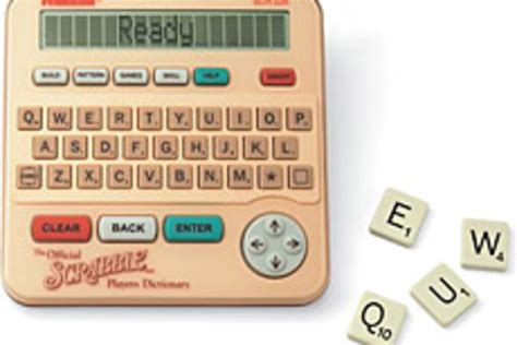 scrabble words dictionary scrabble electronic dictionary uncrate
