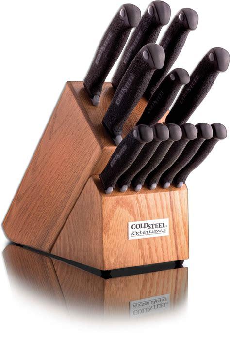 cold steel kitchen knives cold steel kitchen knife set cs 59ksset