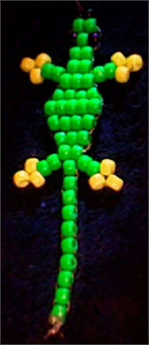 gecko pony bead pattern pony