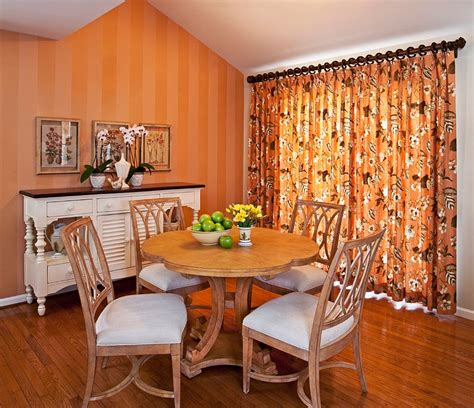 orange dining rooms 25 trendy dining rooms with spunky orange