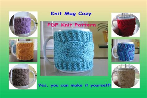 knitted mug hugs free pattern the 251 best images about knit crochet mug hugs on