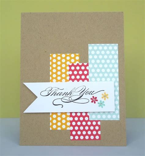 easy cards to make 9 ideas for easy thank you cards