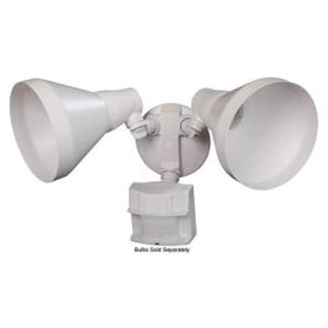 white motion sensor outdoor light defiant 180 degree outdoor white motion security light dfi