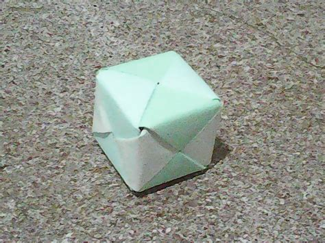 3d cube origami origami 3d cube by aureliusorigami on deviantart