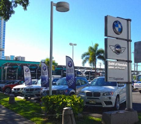 Bmw Of Honolulu by Bmw Of Honolulu Honolulu Hi 96813 Car Dealership And