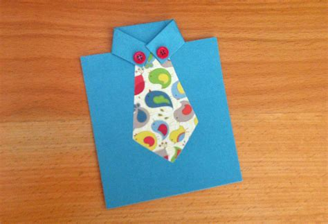 how to make a tie card tie cards for s day modernmom