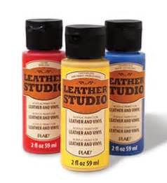 acrylic paint on leather introducing leather studio leather vinyl acrylic paint