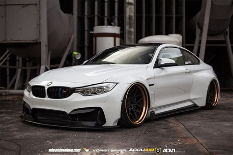 Bmw Modified by Heavily Modified Bmw M4 Coupe Slammed To The Ground