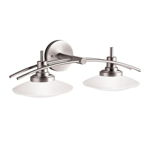 two light bathroom fixture kichler 6162ni two light bath vanity lighting fixtures