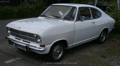 1967 Opel Kadett by Opel 1967 Kadett Ls B Coupe The History Of Cars