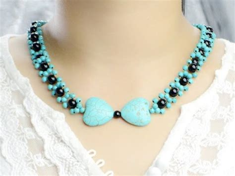 easy jewelry easy jewelry tutorial make turquoise bead pendant