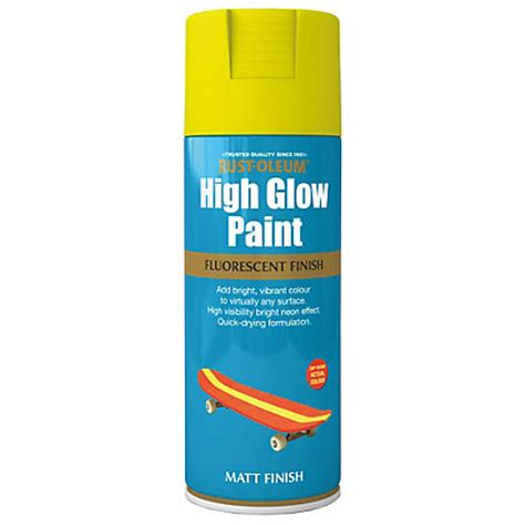 glow in the paint homebase rust oleum glow in the paint 125ml