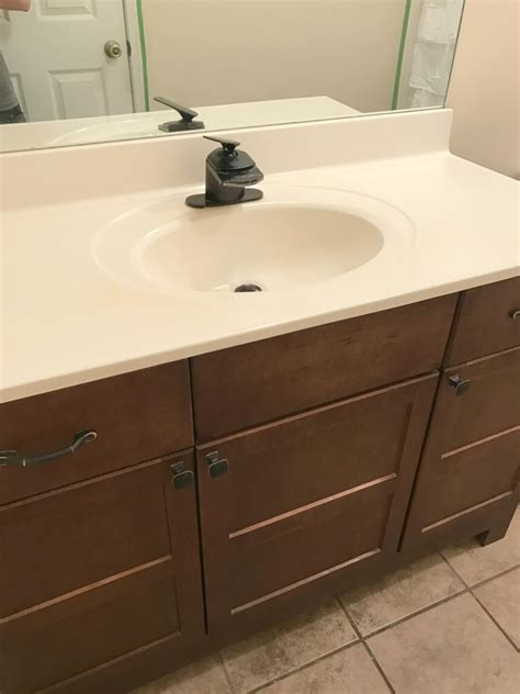 Small Bathroom Makeover Ideas by Small Master Bathroom Makeover Before And After A Cup