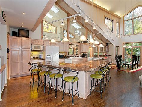 open floor kitchen designs 16 amazing open plan kitchens ideas for your home