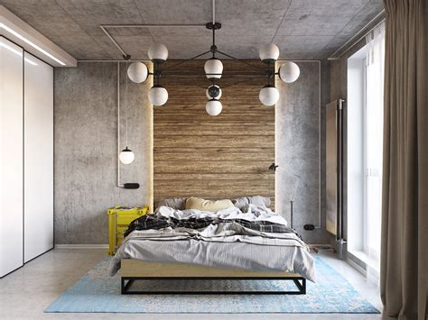industrial bedroom design ideas yellow and blue industrial bedroom decor interior design
