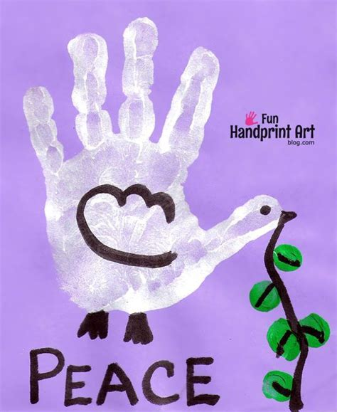 peace crafts for handprint dove peace day craft november 17 september