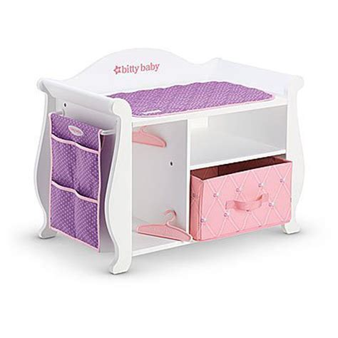 doll changing tables american bitty baby changing table storage 2015 for